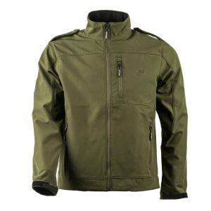 מעיל צבאי ירוק זית Softshell אטום לרוח ודוחה מים