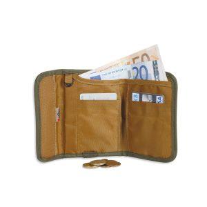 ארנק קטן, חכם ונוח עם מערכת הגנה למניעת סריקת כרטיסי אשראי.