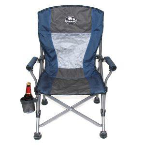 כסא מתקפל עשוי מסגרת ברזל