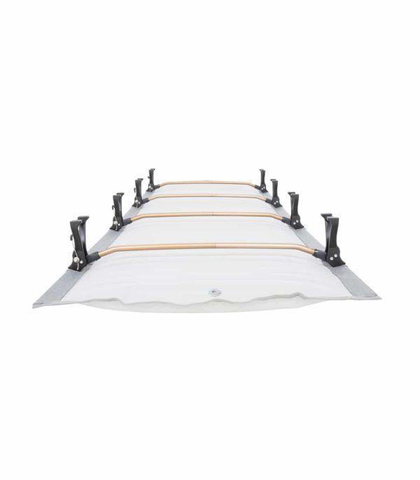 גוף המיטה מלא באויר וחוסך שימוש במזרון