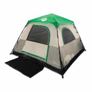 אוהל משפחתי ל-4 אנשים בפתיחה מהירה