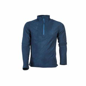 חולצת מיקרופליס כחולה לגברים קלה ונוחה לשימוש יומיומי או טיולים