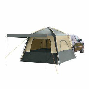 אוהל ל-5 אנשים מתחבר לתא המטען