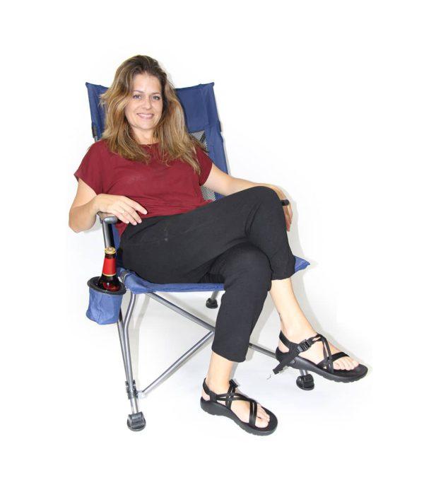 שימוש בכסא נוח Outdoor Lounger