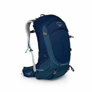 תיק יום לטיולים Sratos בנפח 34 ליטר כחול