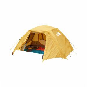 אוהל תרמילאים ל-2 אנשים מצב פתוח
