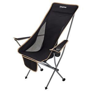 כיסא שטח בעל מסגרת אלומיניום קלה וחזקה
