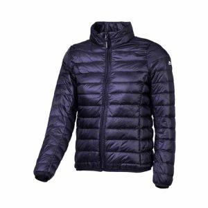 מעיל פוך טבעי קל משקל, מיועד לטיולי הליכה ויומיום שחור