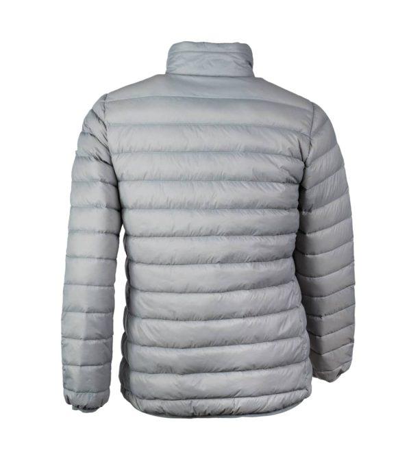 מעיל המיועד לשימוש בטיולים ויומיום באקלים קר צבע אפור