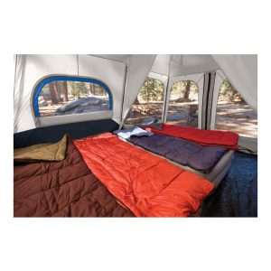 אוהל משפחתי ל-10 אנשים מרווח מחולק ל-2 חדרים