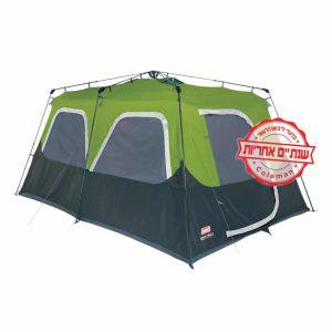 אוהל coleman משפחתי לעשרה אנשים