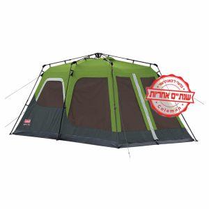 אוהל coleman משפחתי לשמונה אנשים