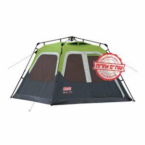 אוהל coleman לארבעה אנשים