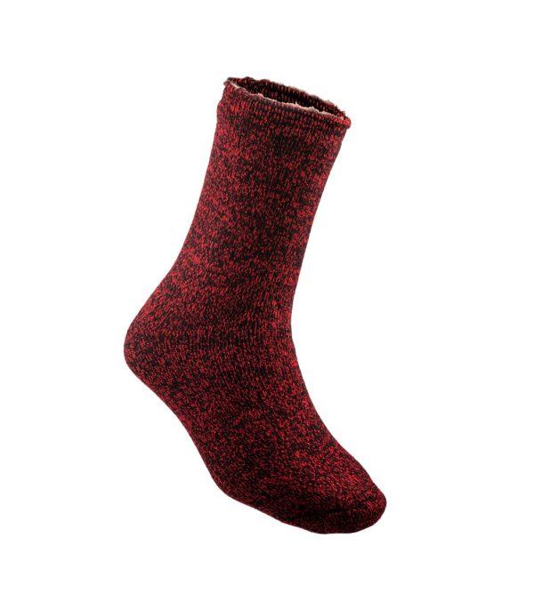 גרבים המתאימים לקור קיצוני בצבע אדום