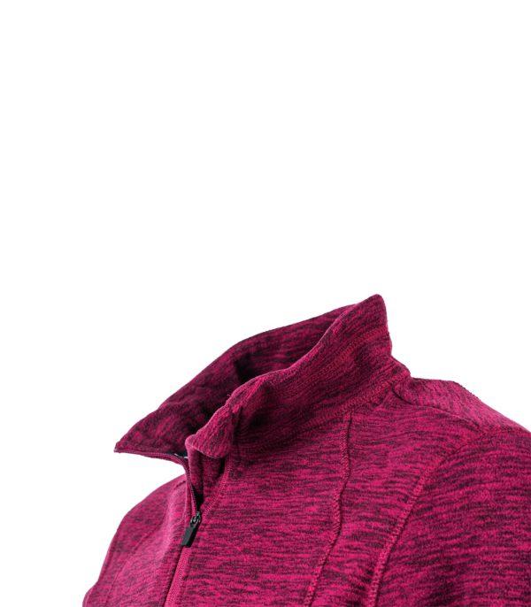 צווארון מיקרופליס בצבע בורדו