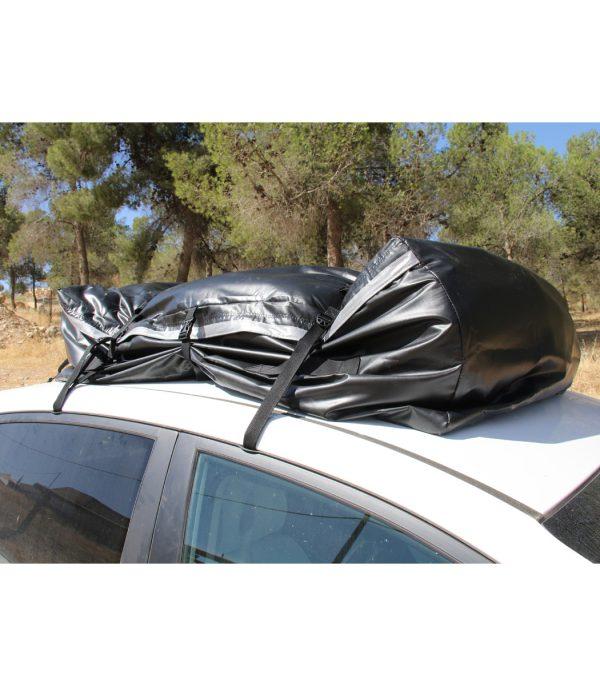 שימוש בתיק גגון גדול ואיכותי, מיועד לאחסון ציוד בזמן הובלה על גגון או משטח העמסה.