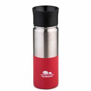 """בקבוק/כוס תרמית בנפח 500 מ""""ל אדום"""