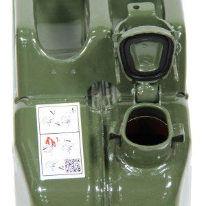 פיה פתוחה של ג'ריקן דלק Jerrycan Valpro 10L