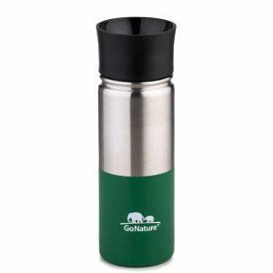 """בקבוק/כוס תרמית בנפח 500 מ""""ל ירוק"""