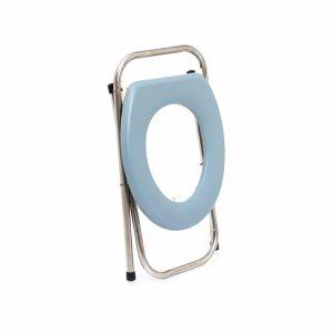 אסלה ניידת מתקפלת המשמשת כשירותים ניידים לכל מקום