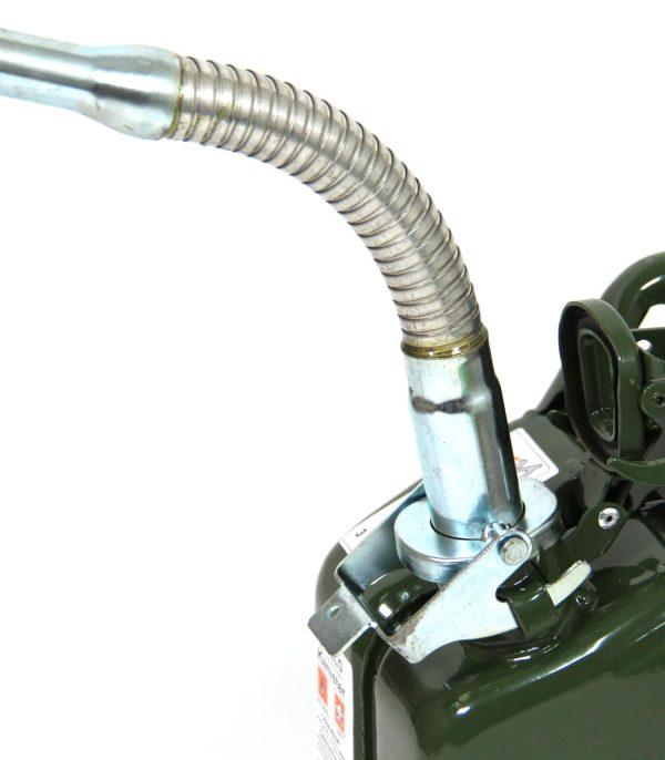 פיית תדלוק גמישה לג'ריקן דלק סטנדרטי