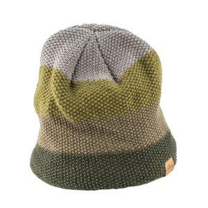כובע חורפי מצמר מרינו ירוק