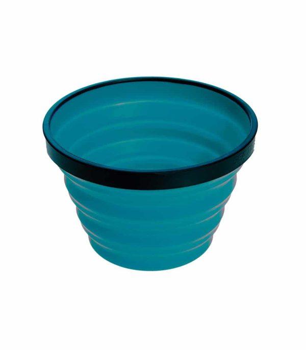 """כוס סיליקון מתקפלת בנפח 650 מ""""ל טורקיז"""