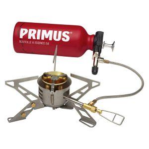 בנזיניית פרימוס המתאימה לשימוש בגז ובדלקים שונים