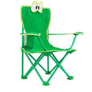 כיסא שטח חמוד לילדים, חזק במיוחד, עם מנגנון פתיחה בטיחותי.