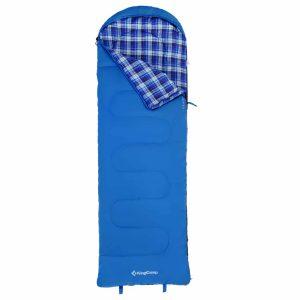 שק שינה פלנל ל-11 מעלות כחול