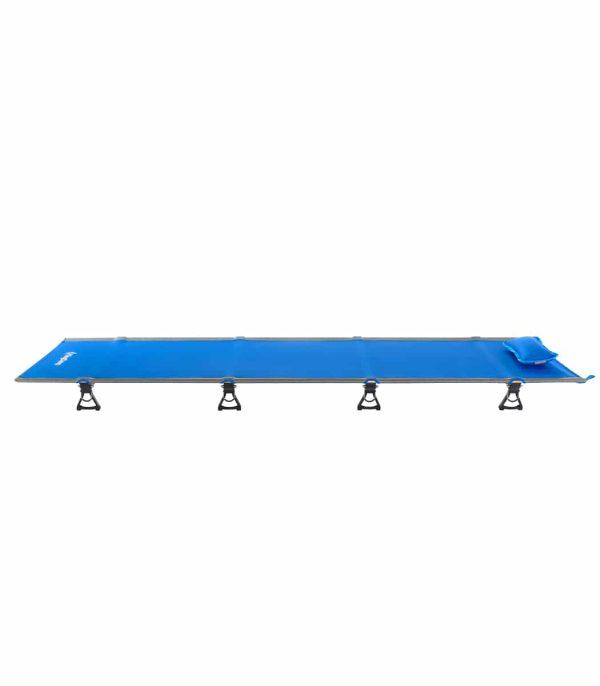 מיטת שדה נמוכה ליחיד בצבע כחול