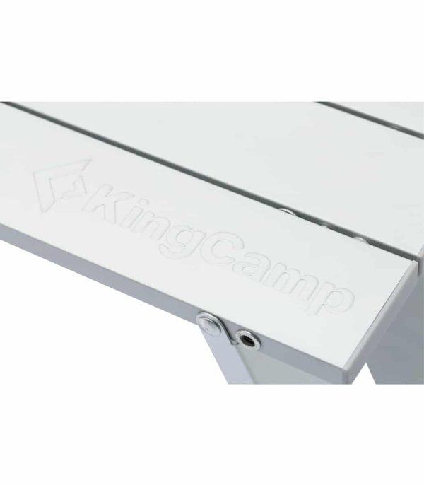 פלטה העשויה מתריס אלומיניום נגלל המאפשר קיפול קליל