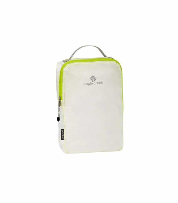 ארגונית קלה מיוחד לאחסון ואריזה של ציוד בתוך תרמיל או מזוודה בצבע לבן