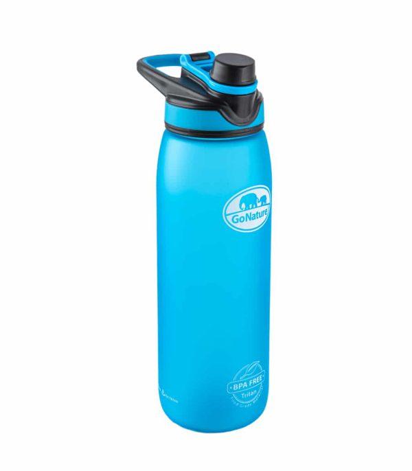 """בקבוק שתייה קשיח בנפח 850 מ""""ל בצבע כחול"""