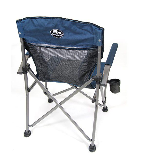 כיסא שטח קומפקטי בעל מסגרת פלדה - עמיד ואיכותי.