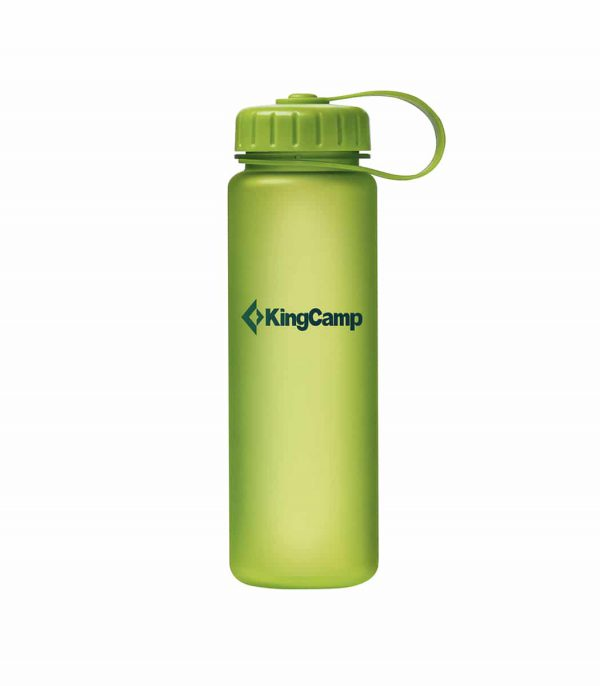 בקבוק מים פייה רחבה צבע ירוק