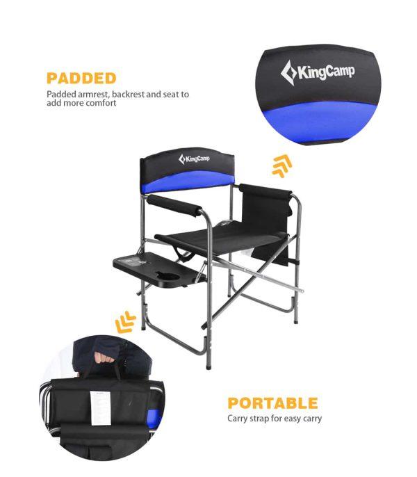 המושב והמשענת עשויים בד פוליאסטר איכותי