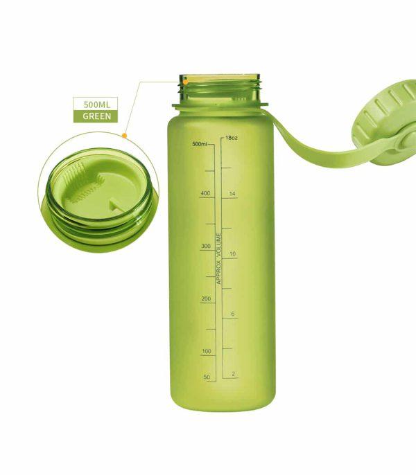 פיית הבקבוק משולבת עם שסתום לכניסת אוויר המאפשר שתייה חלקה וזרימה גבוהה.
