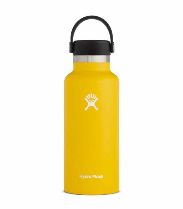 בקבוק שתיה מבודד בצבע צהוב