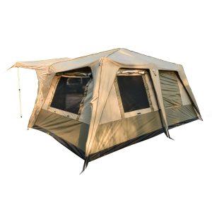 אוהל קמפינג 3 עונות, מיועד ל 12 אנשים.