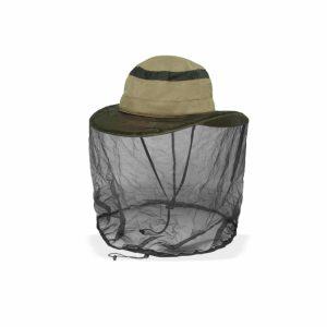 כובע רחב שוליים עם רשת נגד יתושים