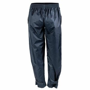 גב מכנס גשם קל ואטום למים