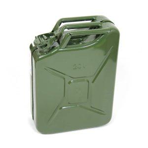 ג'ריקן דלק קלאסי בנפח 20 ליטר.