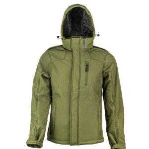מעיל Softshell עם בטנת פרווה סינטטית מיוחד לחיילים