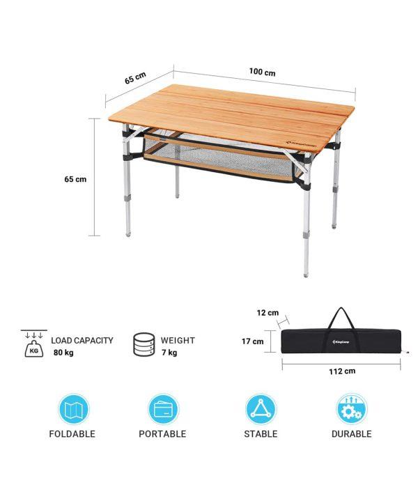 מידות השולחן