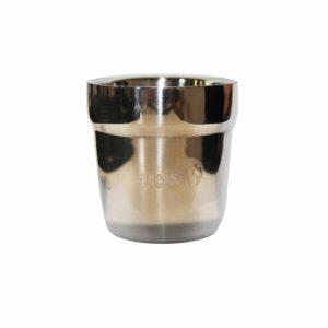 כוס דופן כפולה המאפשרת לאחוז בכוס גם כשהמשקה רותח