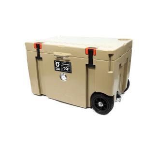 צידנית 70 ליטרים עם גלגלים בלאק טאורוס