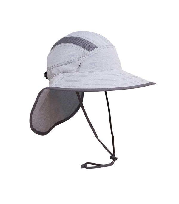 כובע מטיילים איכותי רחב שוליים עם תוספת בד להגנה על העורף, קל משקל ומתקפל.צבע בז'