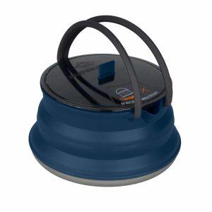 קומקום סיליקון בנפח 2 ליטר בצבע כחול