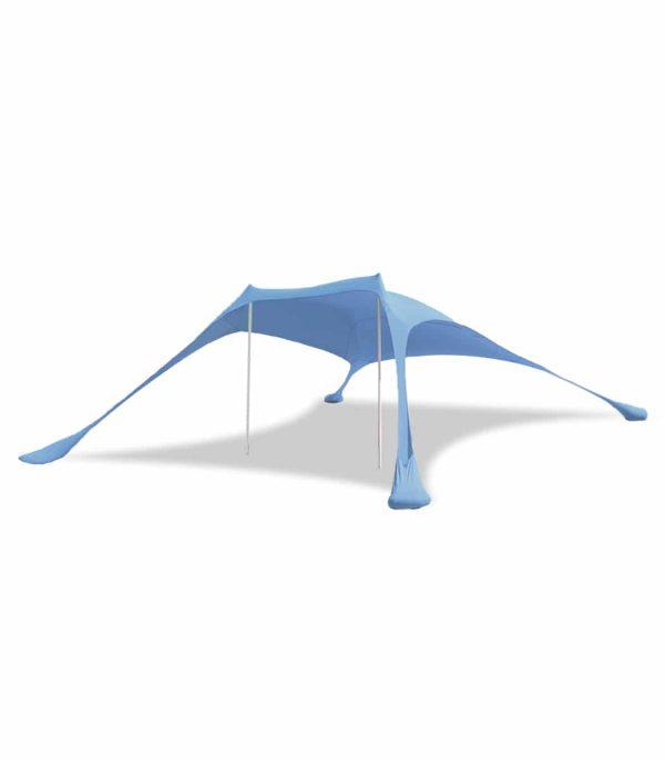ציליית לייקרה לים/לקמפינג בצבע תכלת